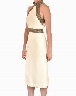 Vestido Midi Gucci Off White
