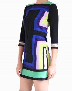 Vestido Diane Von Furstenberg colorido