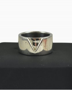 Anél Vivara V em prata