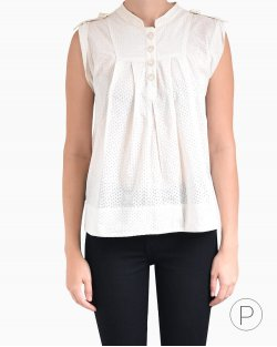 Blusa Marc by Marc Jacobs Creme