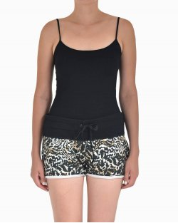 Shorts NK moletom animal print
