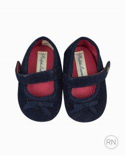 Sapatilha Ralph Lauren Infantil Azul Marinho