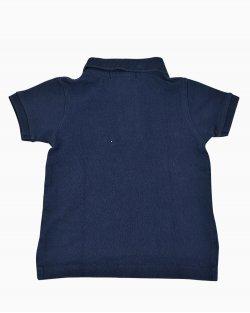 Camiseta Polo Infantil Polo Ralph Lauren Azul Marinho