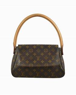 Bolsa Louis Vuitton Looping PM Monograma