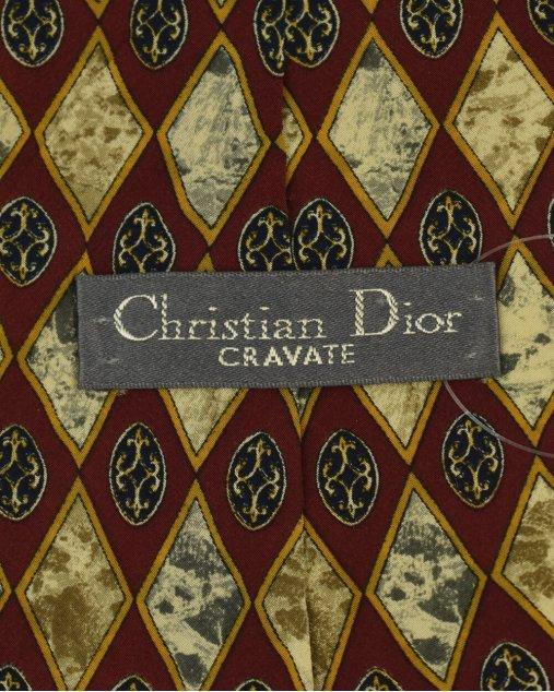 Gravata Christian Dior Estampado Vintage