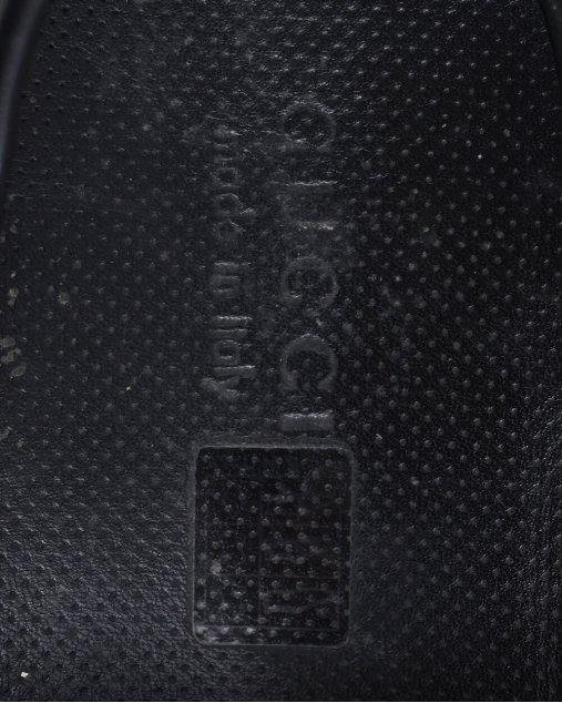 Mocassim Gucci em couro preto