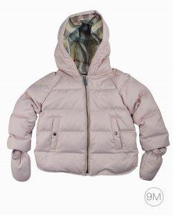 Casaco Burberry Children infantil rosa claro