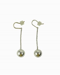 Brinco Tiffany & Co. Esféricos de Prata