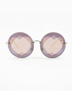 Óculos de sol Miu Miu Cutout Heart SMU01S