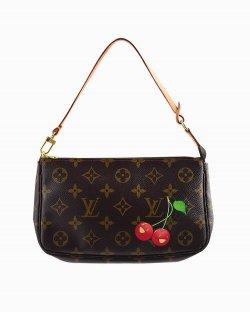 Bolsa Louis Vuitton pochette Murakami Cherry Monograma