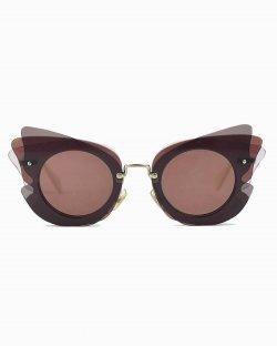 Óculos de sol Miu Miu recortes amora SMU 02S