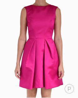 Vestido Carolina Herrera pink