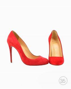 Sapato Louboutin Simple Pump Vermelha