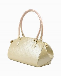 Bolsa Louis Vuitton Couro Monograma Off-White