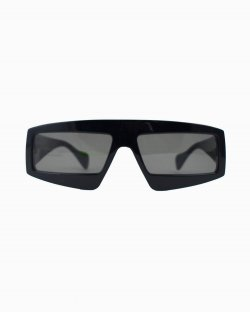 Óculos de sol Gucci retangular preto GG0358S