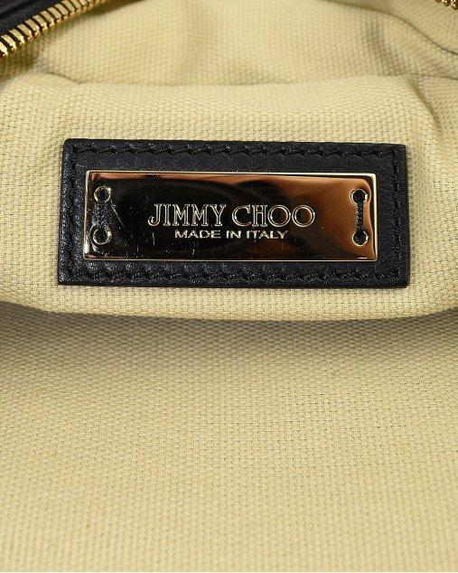 Bolsa Jimmy Choo de Couro Preto