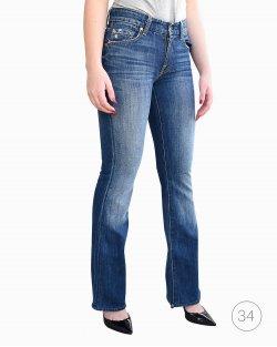 Calça Jeans 7 For All Mankind Lavagem Escura