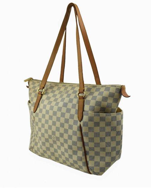 Bolsa Louis Vuitton Totally MM Damier Azur