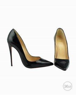 Sapato Louboutin So Kate 120 verniz preto