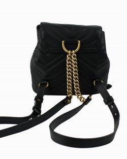 Mochila Gucci Marmont 2.0 couro preta