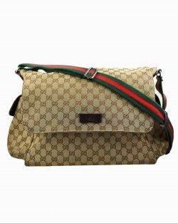 Bolsa Gucci Diaper GG monograma