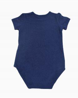 Body Gucci infantil azul marinho