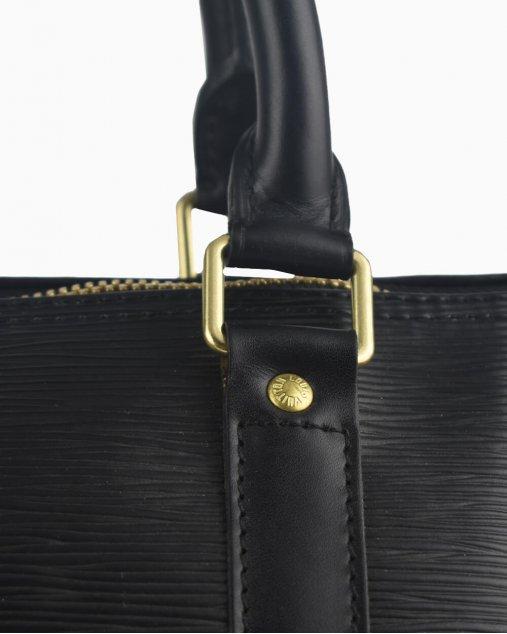 Mala Louis Vuitton Keepall 45 Couro Epi Preto