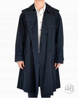 Trench Coat Burberry vintage azul