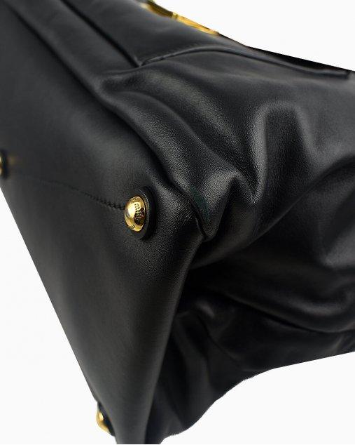 Bolsa Miu Miu de Couro Preto