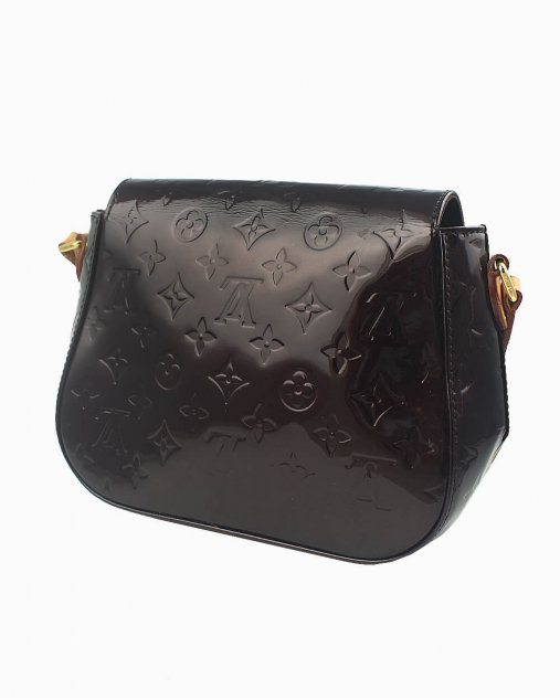 Bolsa Louis Vuitton Bellflower de Verniz Amarante