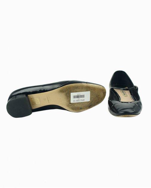 Sapato Miu Miu de Verniz Preto