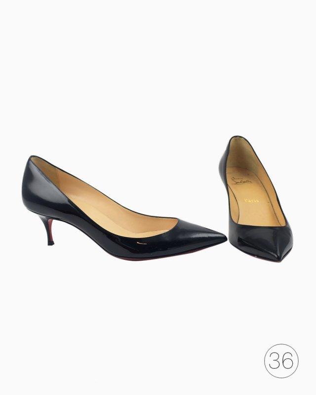 Sapato Christian Louboutin Pigalle Follies 55 preto