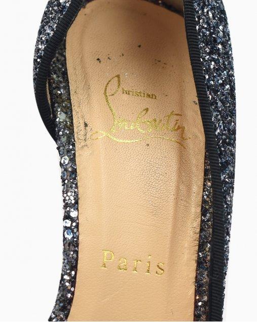Sapato Christian Louboutin Iriza 100 brilhante
