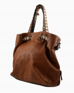 Bolsa saco Dolce & Gabbana couro caramelo