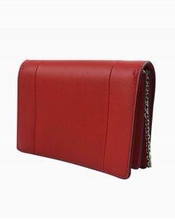 Bolsa Valentino V em couro vermelho
