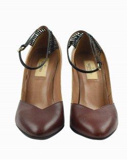 Sapato Valentino couro bicolor