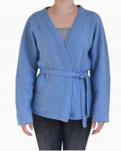 Conjunto de cardigan e colete Max Mara lã Azul