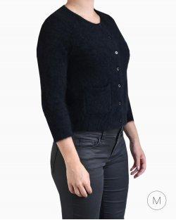 Cardigan DKNY pelos preto
