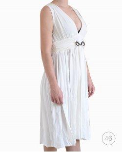 Vestido Roberto Cavalli branco