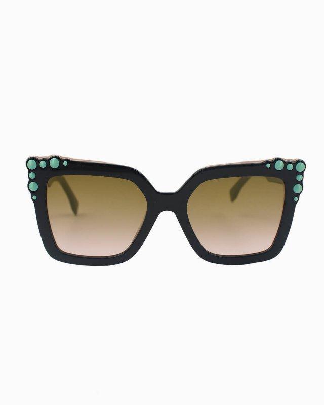 Óculos de sol Fendi Can Eye FF 0260/S preto