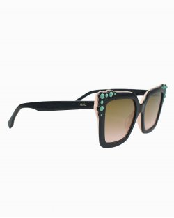 Óculos de sol Fendi Can Eye FF 0260/S preto