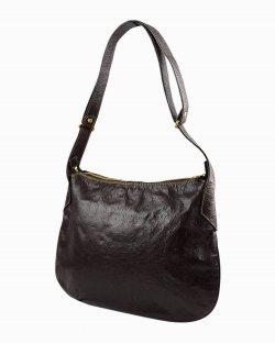 Bolsa Fendi Vintage Hobo Couro marrom