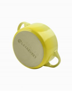 Mini Cocotte Le Creuset Amarela