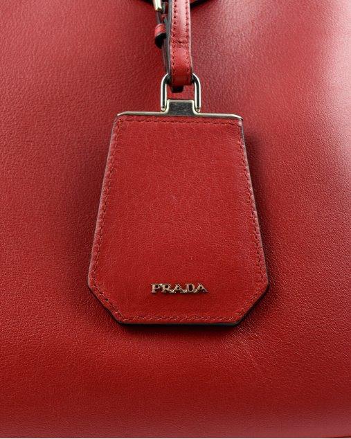 Bolsa Prada City Calf Medium Double Bag