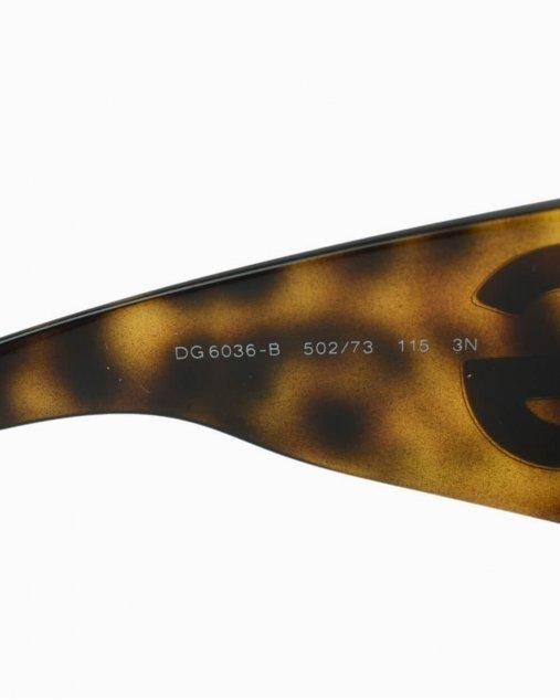 Óculos de Sol Dolce & Gabbana  Rhinestone Tortoise Strass DG 6036-B