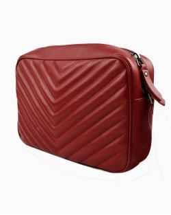 Bolsa Yves Saint laurent Lou vermelha