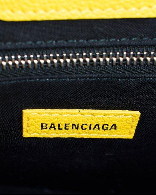 Bolsa Balenciaga Shopping XXS amarela