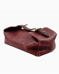 Necessaire Cartier em couro Burgundy