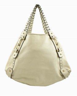 Bolsa Gucci em couro off-white