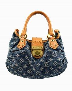 Bolsa Louis Vuitton Denim Pleaty